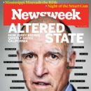 Jerry Brown - Newsweek Magazine Cover [United States] (22 April 2016)