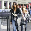 Priyanka Chopra at LAX International Airport in Los Angeles - 454 x 641