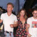 Candice Brown – Attending the Pimm's summer party at Flat Iron Square in London - 454 x 291