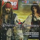 Johnny Depp, Penélope Cruz - TV Dvd Jaquettes Magazine Cover [France] (April 2012)
