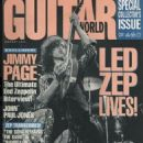 Jimmy Page - Guitar World Magazine Cover [United States] (January 1991)