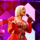 Bebe Rexha – Performing at iHeart Radio Jingle Ball in Washington - 454 x 681