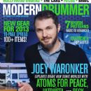 Joey Waronker - Modern Drummer Magazine Cover [United States] (June 2013)