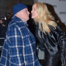 Jerry Hall and David Bailey attend a private view of Bailey's Stardust, a exhibition of images by David Bailey supported by Hugo Boss, at the National Portrait Gallery