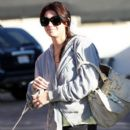 Ashley Greene with her Dog in Hollywood
