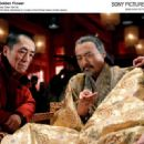 Left to Right: Zhang Yimou, Chow Yun Fat. Photo by: Ms. Bai Xiaoyan © Film Partner International Inc. Courtesy of Sony Pictures Classics, all right reserved.