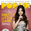 Lucy Hale - Pop Up Magazine Cover [Turkey] (June 2015)