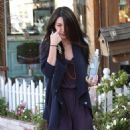 Megan Fox leaving the Byron and Tracey salon in Beverly Hills - January 24, 2011
