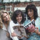 Gia, girlfriend Lisa and Gia's mother (played by Mercedes Ruehl) look at Gia's first Vogue cover. - 454 x 299