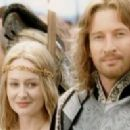 David Wenham As Faramir And Miranda Otto As Eowyn In The Lord Of The Rings - The Return Of The King (2003) - 454 x 198