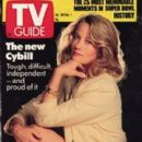 Cybill Shepherd - TV Guide Magazine Cover [United States] (25 January 1991)