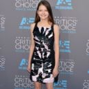 Actress Mackenzie Foy attends the 20th annual Critics' Choice Movie Awards at the Hollywood Palladium on January 15, 2015 in Los Angeles, California - 395 x 600