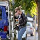 Ashley Benson – Out for coffee at Alfred's in West Hollywood