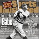 Babe Ruth - Sports Illustrated Magazine Cover [United States] (24 August 1998)