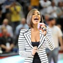 Keri Hilson - Attending LA Lakers Vs Atlanta Hawks, 31 March 2010