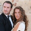 Jean Dujardin and Mathilde Seigner