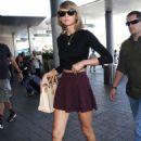Taylor Swift Lax Airport In La
