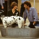 Penny Marshall and Ted Danson