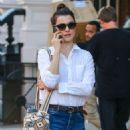 Rachel Weisz in Jeans – Walking in Soho in New York City 10/18/2016 - 454 x 643