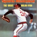 Nolan Ryan - Sports Illustrated Magazine Cover [United States] (16 June 1975)