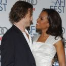Kerry Washington and David Moscow