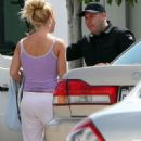 Britney Spears Gets Back to the Studio