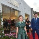 Holland Roden attends the Jovani L.A. Flagship Opening on May 24, 2016 in Beverly Hills, California