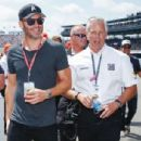 Chris Pine- May 29, 2016- Celebrities Are Seen at the 100th Indianapolis 500