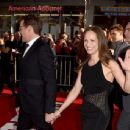 Robert Downey Jr. and his wife Susan attends the premiere of Marvel's