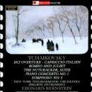 Leonard Bernstein - Tchaikovsky: 1812 Overture; Capriccio Italien; Romeo and Juliet; The Nutcracker Suite; Piano Concerto No. 1; Symphony No. 5