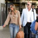 Elizabeth Hurley – Touches down in Palma - 454 x 662
