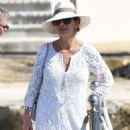 Catherine Zeta Jones on holiday in France - 454 x 727