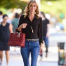 Nicky Hilton – In denim seen out in New York City - 454 x 697