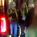 Cara Delevingne and Ashley Benson – Leaves Lucky Strike in New York - 454 x 628