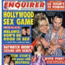 Pamela Anderson, Tommy Lee - National Enquirer Magazine Cover [United States] (14 March 1995)