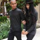 Lewis Hamilton&Nicole Scherzinger in Beverly Hills June 19, 2011