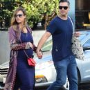 Jessica Alba and Cash Warren out shoppingin Venice Beach, CA