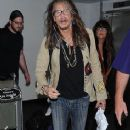 Steven Tyler is seen at LAX - 367 x 600