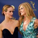Sarah Paulson and Connie Britton – 70th Primetime Emmy Awards in LA - 454 x 324