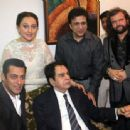 Bollywood Stars At Dilip Kumar's 89th Birthday Party - 454 x 338