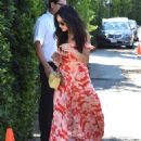 Shay Mitchell – Arriving to The in Style Gifting Suite in Brentwood - 454 x 565