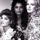 Karen Mulder, Helena Christensen & Linda Evangelista - 454 x 718