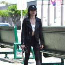 Lucy Hale Shopping at the Reformation store in Los Angeles