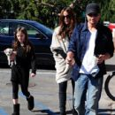Kate Beckinsale And Family Out Shopping In Santa Monica