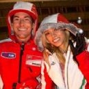 Nicky Hayden and Jackie Marin
