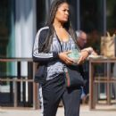 Laila Ali – Shopping candids in Los Angeles - 454 x 694