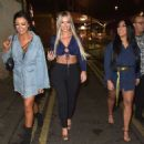 Sophie Kasaei, Holly Hagan and Abbie Holborn – Night out in Newcastle - 454 x 477