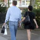 Andrea Corr and Brett Desmond, West London, 5 Sept. 2013 - 454 x 556