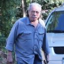 Edward James Olmos shops for properties in the Hollywood Hills, California with family on January 29, 2014 - 446 x 594