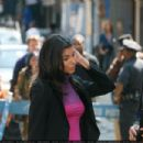 Roselyn Sanchez - Filming An Episode Of Without A Trace In Manhattan, NY, 11/08/08